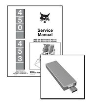 Heavy equipment manuals books for sale ebay bobcat 450 453 skid steer service manual shop repair book part 6724259 fandeluxe Image collections