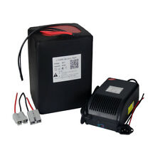 Eibke Battery 48V 20Ah Lithium LiFePO4 with 5A Charger for 1000W Motor