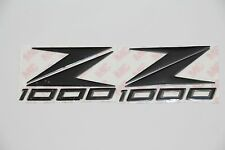 Motorcycle Emblem Stickers Decal 3d Raise For Z1000 2012-2014 (Black)