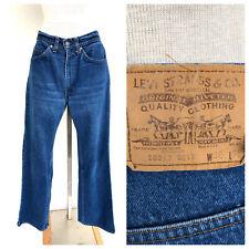 Vintage VTG Levi's Orange Tab Dark Wash Straight Leg Jeans Denim