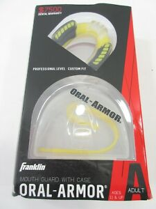 Franklin Oral-Armor Mouth Guard Professional Custom Fit Impact Protection Adult