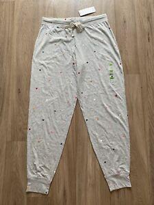 M&S DAY DREAMS Cotton Rich Pyjamas Bottom UK12 EU40 Regular BNWT Grey Mix