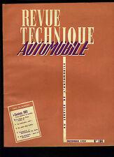 (C17) REVUE TECHNIQUE AUTOMOBILE CAMIONS UNIC / Voiturette JET