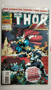 THOR ANNUAL Vol 1 #18  1st Printing - Polybagged - Female Loki     / 1993 Marvel