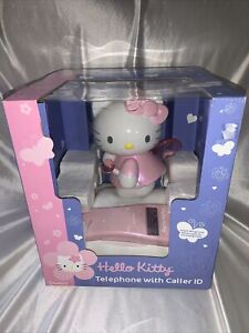 HELLO KITTY TELEPHONE CALLER ID NEW IN THE BOX