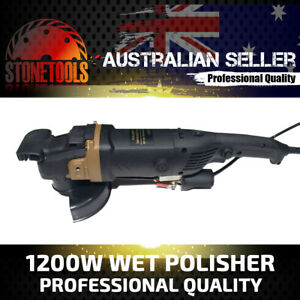 Wet Polisher 1200W - Professional Grade for Concrete Marble Granite and Stone