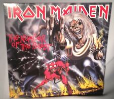 LP IRON MAIDEN Number of the Beast 180g EU IMPORT 2014 NEW MINT SEALED