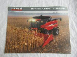 Case CASEIH AFX 8010 combine brochure