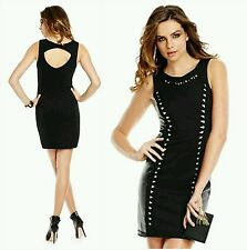 New Guess by Marciano Liz Laser-Cut Body-Con dress size M body-skimming fit