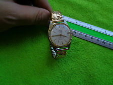 GENTS VINTAGE GOLD PLATED WATCH OSTARA DATAMATIC 23 JEWELS