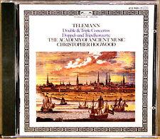 L'OISEAU-LYRE 1984 W. GERMANY SMOOTH CASE Telemann HOGWOOD Concertos 411 949-2