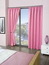 Rideaux roses modernes pour la chambre