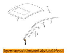 HONDA OEM 03-07 Accord-Roof Molding Clip Left 73165SDAA41