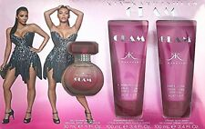 Kim Kardashian GLAM-3Pc Gift Set-Glam Perfume+Glam Lotion+Glam Body Wash