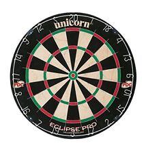Adults Unicorn Eclipse Pro Dartboard Official Tournament Size Bristle Dart Board