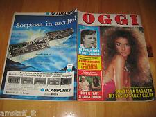 OGGI 1985/29=ELEONORA BRIGLIADORI=MAURIZIO FERRINI=PIERO ANGELA=CATHERINE SPAAK=