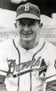 Vintage Photo 1 - Boston Braves - Clint Conatser