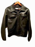 Vintage Schott Leather Motorcycle Jacket SIZE M /38. SCHOTT NYC.  Pre-Owned