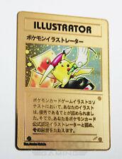 Pikachu Illustrator Gold Metal Pokemon Card with free Toploader protector - UK