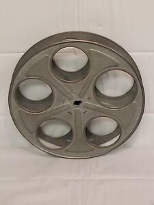"""Vintage 35mm Film Reel 10"""" Movie Projector Steel Reels"""