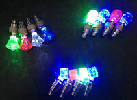 (PACK) LED Bike Bicycle Wheel Valve Stem Cap tire kids Motion Neon Light lamp