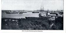Pola der größte Kriegshafen der k.u.k.Monarchie Historische Aufnahme von 1914