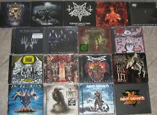 CD Sammlung Black & Death Metal: 34x Darkthrone, Dismember, Immortal, Vader uvm