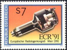 Austria 1991 X-Ray Tube/Medical/Health/Radiology Congress/X-Rays 1v (n44447)