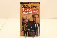 Late Last Night VHS Movie Steven Weber New Sealed