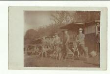 133785 antica foto cartolina militari soldati alle mitragliatrici