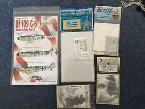Messerschmitt BF109G bundle, Decals, photo etch