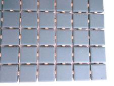 """Vintage-Unused-NOS Sheet of 12"""" x 24""""  tile Powder Blue 1"""" tiles"""