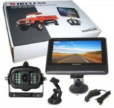 "Wireless Car / Truck Rear View Camera with IR System with 7"" TFT LCD Monitor"