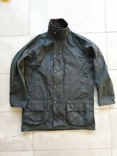 Made in England Barbour Beaufort wax Jacket s green 38 medium sage bedale ashby