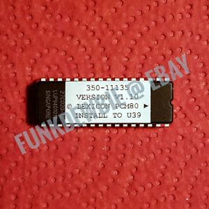 Lexicon PCM-80 OS 1.10 EPROM Firmware Upgrade KIT / New ROM Update Chip PCM80