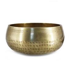 Buddha Sound Bowl Antique Design Tibetan Nepal Singing Meditation Relax Bowl