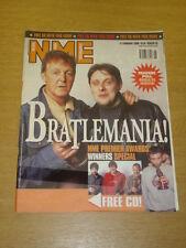 NME 2000 FEB 12 BEATLES SHAUN RYDER BLUR FATBOY SLIM