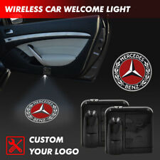 Wireless Car Door Courtesy Welcome Projector Logo Shadow Light For Mercedes Benz