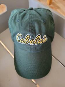 Cabela's Unisex Army Green Baseball Cap Hat NWOT