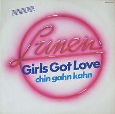 "Lunen - Girls Got Love Extended-Disco-Version (12"" OAK-Records Maxi-Single 1985)"