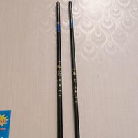 Telescopic Stream Pole Spinning Freshwater Fishing Rod FRP 2.7m-7.2m Glass Fiber