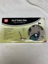 Wilson Putting Pal Electric Putting Cup With Ball Return W355  OPEN BOX