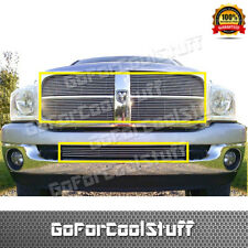 FOR DODGE RAM 2006-2008 UPPER+BUMPER BOLT-ON TOW-HOOK SHOW BILLET GRILLE COMBO