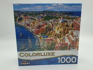 Colorluxe - Procida Island, Italy - 1000 Piece Puzzle