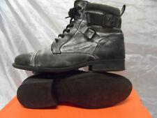 Para Hombres Cuero Zapatos/Botas Nushu rever Island Size UK 9/43 EUR
