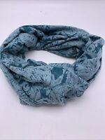 Women's echo infinity scarf owl green  N76