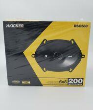 """Kicker DSC680 6""""X8"""" Speakers 50Watt Rms Fits Ford 1 Pair"""