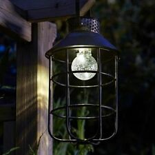 Aluminum Lantern PIR Garden Lighting Equipment