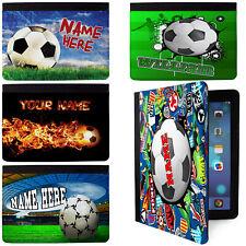 Personalizado Fútbol iPad Funda inicial de aduanas muchachos Regalo Apple Todos Los Modelos