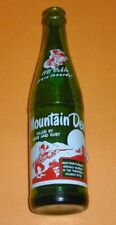"""Mountain Dew 10 oz. Soda Pop Bottle -Two Sided With """"Filled By Herb and Ruby"""""""